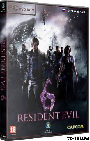 Скочать Resident Evil 6 (2013) PC   RePack от R.G. Механики.torrent