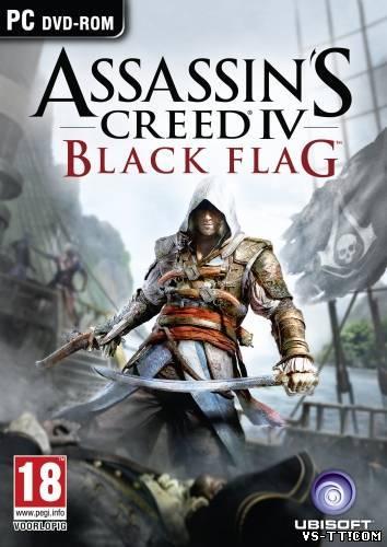 Скочать Assassin's Creed IV: Black Flag [v1.04] (2013/PC/Rip/Rus) by R.G. Games.torrent