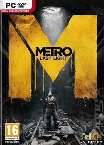 Скочать Metro: Last Light [Steam-Preload] (2013/PC/Rus) by R.G. GameWorks.torrent